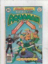 Adventure Comics # 448 Vg/Fn Aquaman Black Manta 1976