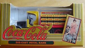 ERTL Coca-Cola Kenworth Delivery Truck Bank NEW in Box
