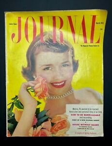 Vintage Ladies Home Journal 1951 Woman's Magazine How To Be Marriageable