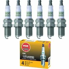 6 pcs - NGK G-Power Spark Plugs #3381 - OEM Set LZTR5AGP
