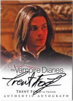 The Vampire Diaries 2 Auto Autograph Card Trent Ford Trevor A18