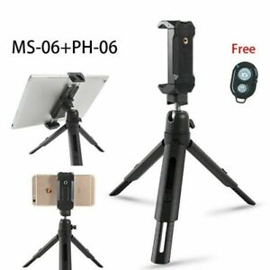 Mini Tripod Phone Stand For Xiaomi Apple Android Phones 360 Rotation Lightweight
