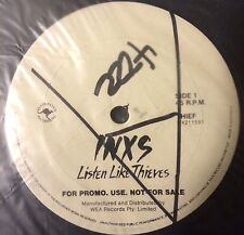 """INXS VERY RARE AUS WL PROMO ONLY 12"""" Listen Like Thieves"""