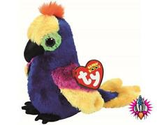 TY BEANIE BABIES BOOS WYNNIE PARROT PLUSH SOFT TOY NEW WITH TAGS