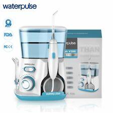 Waterpulse V300G Oral Irrigator 5pcs Tips Dental Water Flosser Water Floss 800ml