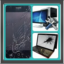 Laptop Screen Repair SERVICE Cracked lcd Fix Dell Hp Apple Toshiba Compaq & More