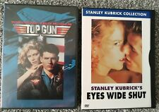 Top Gun and Eyes Wide Shut 2 dvd movies with Tom Cruise