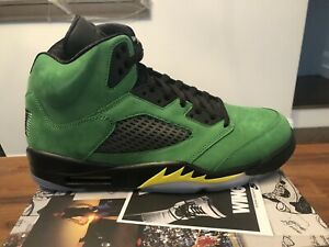 "Nike Air Jordan 5 Retro SE Oregon ""Green Apple"" (CK6631-307) Size 13 New In Box"