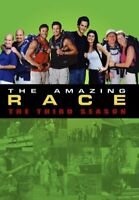 The Amazing Race: The Third Season (Season 3) (3 Disc) DVD NEW