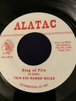 THIS KID NAMED MILES Ring Of Fire ALATAC 45, SKA REGGAE ORIG RECORD RARE VINYL