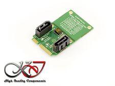 Carte Contrôleur mSATA - Adaptateur 2x SATA- RAID 0 1 JBOD