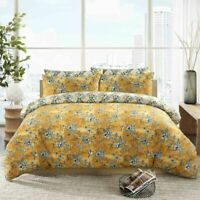 BIRD NECTOR PRINT DUVET COVER BEDDING SET 100% EGYPTIAN COTTON 200TC ALL SIZES