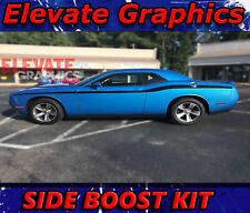 For Dodge Challenger Side Boost Stripes Vinyl Graphics 3m Decals Stickers 11 21
