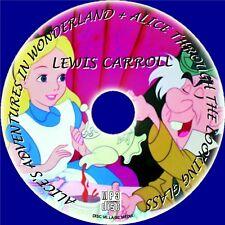 Alice Through the Looking Glass, MP3 CD Audiolibro clásico infantil Novedosa