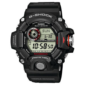 G-Shock Rangeman Master of G Series Solar Triple Sensor Watch GShock GW-9400-1