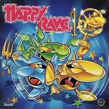 HAPPY RAVE 10 = Promo/Zany/Dione/Byrotribe/Rotterdam..=2CD= HARDCORE HARD TRANCE