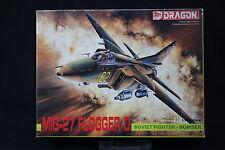 YL029 DRAGON 1/144 maquette avion 4508 400 MIG-27 Flogger D Soviet Fighter