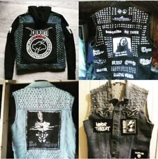 Custom Order Punk Metal Battle Jacket