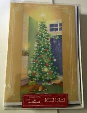 BRAND NEW CHRISTMAS HOLIDAY CARDS WITH ENVELOPES 16CT, FREE SHIPPING