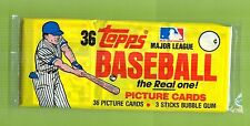 1983 Topps Baseball Grocery Pack(3 small cellos sealed)From Last Case From Topps
