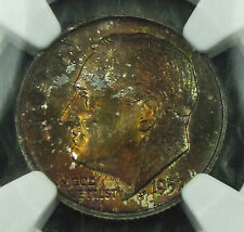 Toned 1957-D Roosevelt MS-67 FT  NGC