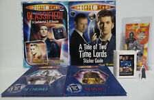 DOCTOR WHO : KEY RING, STANDEE, TRADING CARDS & BOOKS BUNDLE (BP)