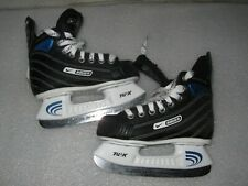 Youth Boys Size Y11 Bauer Supreme Select Ice Hockey Skates Tuik Speed Stainless