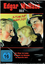 Edgar Wallace Box (DVD) 3 Filme - NEU & OVP