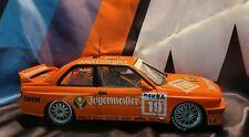 BMW M3 E30 #19 DTM 1992 JAGERMEISTER HAHNE MINICHAMPS 1/18 Scale