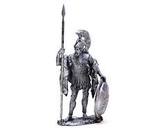 Tin miniature 54 mm Hoplite. Athens. 4 C. BC. Greece 1:32 Scale Warrior