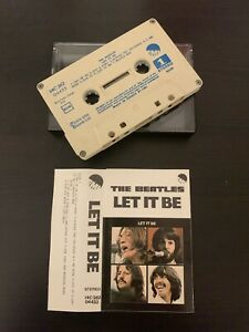 THE BEATLES - LET IT BE (RARE GREECE ISSUE CASSETTE TAPE)