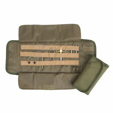 Fly Tying Tool kit Pouch Roll Up Soft Cordura Fly Fishing Gear Assortment Holder