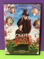 CHARLIE Y LA FÁBRICA DE CHOCOLATE- JOHNNY DEPP- DVD- USADO GARANTIZADO