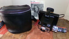 Polaroid Square Shooter 2 Camera with Case, Owner's Manual and Flash Cubes