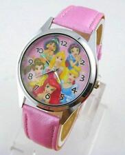 New Cute Disney Princess Child Girl Wrist Fashion Watch Xmas YLG
