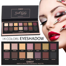 Women Shimmer Matte Shiny Eyeshadow Palette Cosmetic Coastal Scents Makeup Tools