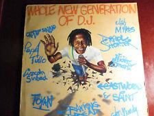 "REGGAE LP: ""WHOLE NEW GENERATION OF D.J."" GREENSLEEVES CAPT SINBAD, PAPA TULLO +"
