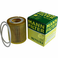 Original MANN-FILTER Ölfilter Oelfilter HU 711/4 x Oil Filter