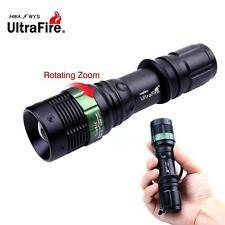 Ultrafire 80000Lumens CREE XM-L T6 LED Flashlight Zoomable Focus Torch Light