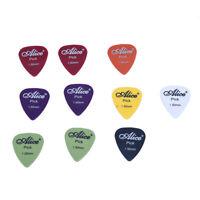 10x MEDIATOR Guitare Accessoires Alice Guitar Pick 1.5mm F6R2 25