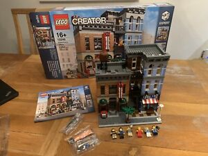 Lego Modular Detective Office 10246 100% Complete Inc Box, Instructions + Spares
