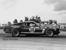 Ford Mustang Boss 302 and Parnelli Jones - 1969 Trans-Am racing season - photo