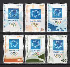 """GREECE 2000 1st ISSUE """"ATHENS 2004"""" MNH"""