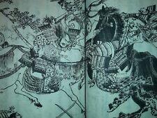 1854 RARO LIBRO GIAPPONESE MAESTRO YANAGAWA SHIGENOBU SCRITTORE SHOUTEI KINSUI
