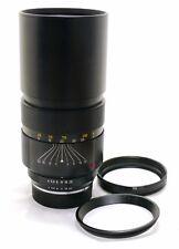 Leica 250mm f/4 Telyt-R lens triple 3 cam EXC++