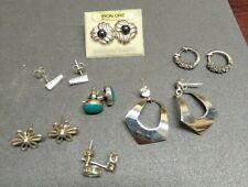 Sterling Silver Lot Of Earrings
