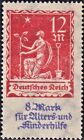 Deutsches Reich Mi.Nr. 234 VIII, postfrisch, Kurzbefund Weinbuch BPP, unsigniert