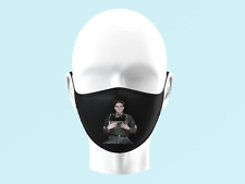 Elvis Presely The King Legend Face Mask Personalised Kids Adults Washable 0070