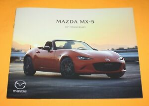 Mazda MX-5 30 th Anniversary 2019 Prospekt Brochure Depliant Catalog Folder