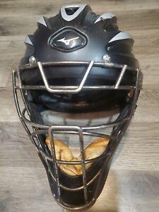 Mizuno Pro Catchers Mask. Model # Mpch100. Adult Size 7 1/8 To 7 1/2